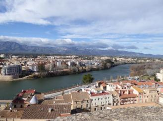 view from the Castello