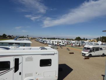 huge campspot in Santiago de la Ribera